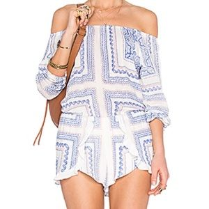 Lovers and Friends off the shoulder romper